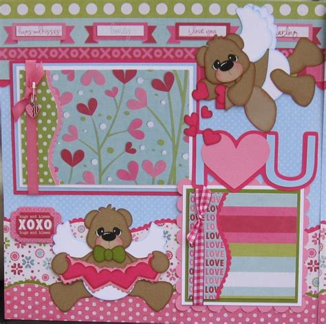 scrapbook layout craft you have to see i love you scrapbook layout on craftsy