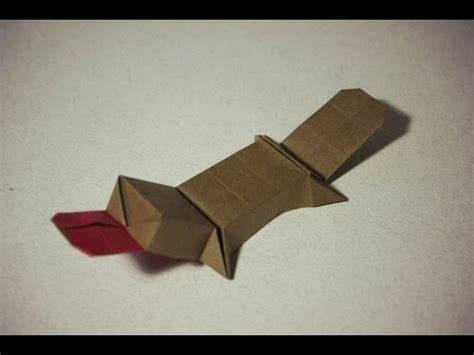 Origami Platypus - cool origami platypus duckbill by saito riki como