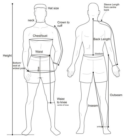 pattern drafting theory measuring a suit images mens diagram google search