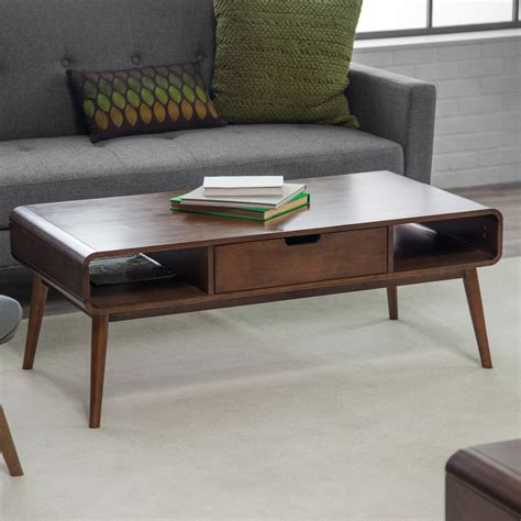 small modern coffee table belham living mid century modern coffee table