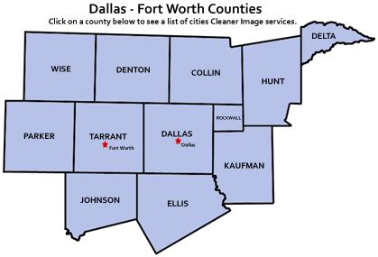 dfw county map fha increases loan limits for dfw the reports
