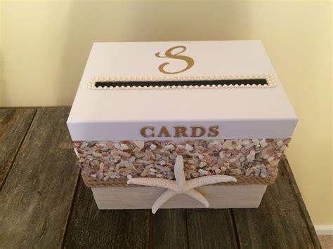 Beach theme wedding card box   Wedding ideas in 2019