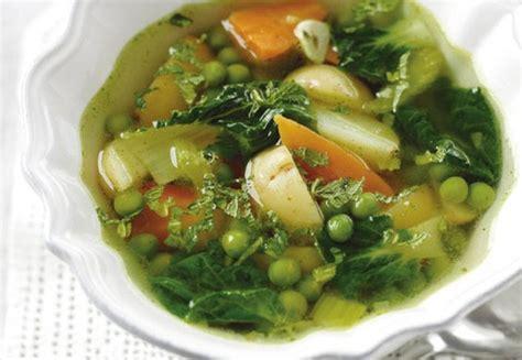 vegetable soup calories