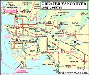 vancouver canada on map map of vancouver bc canada canada map