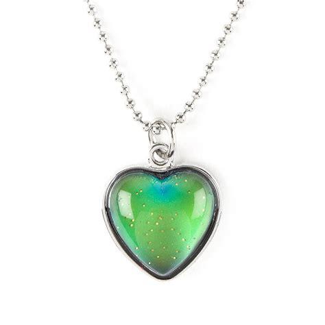 mood necklaces colors mood pendant necklace s us