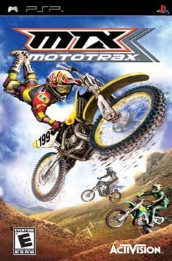 travis pastrana motocross gear mtx mototrax psp usa iso free