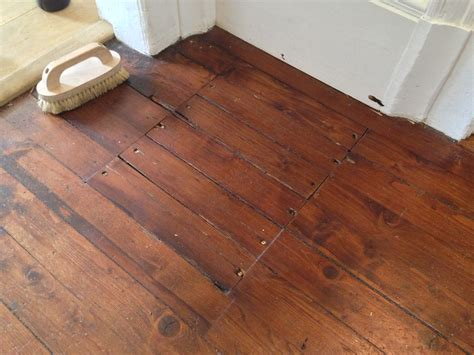 timber floor repair after a economical repair and wax