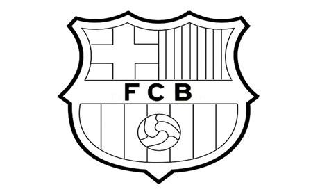 tutorial logo barcelona como desenhar o escudo do barcelona fc how to draw the