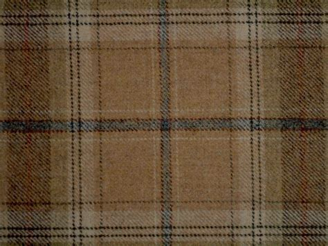 Wool Fabric For Upholstery by 100 Wool Tartan Plaid Oatmeal Fabric Curtain