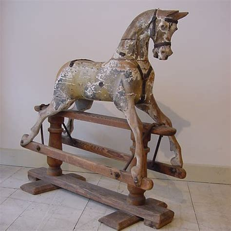 Decorative Item For Home Lines Brothers Rocking Horse Antique Rocking Horses
