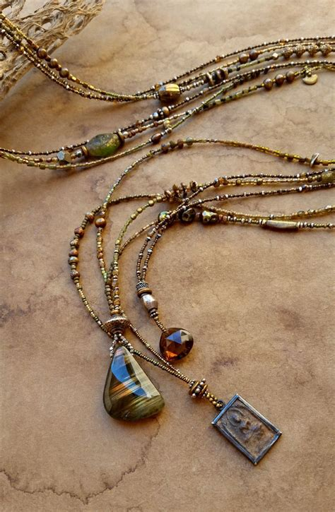 Beaded Pendant Necklace best 25 beaded necklaces ideas on