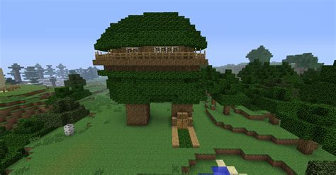 minecraft tree house cool tree house minecraft project