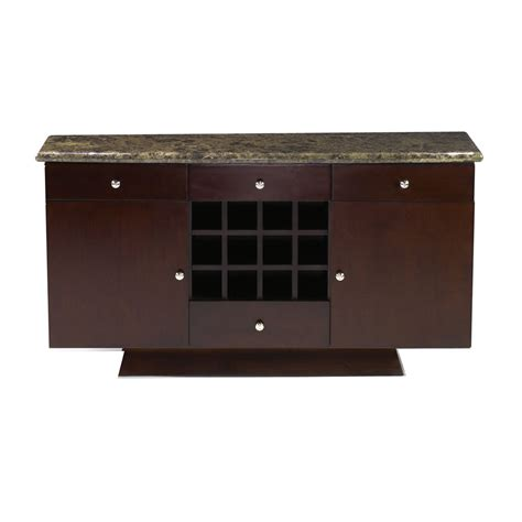 Buffet Server Sideboard verona buffet server sideboard emperador marble sideboards and servers