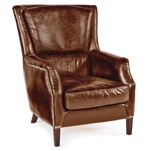 rustic leather armchair alfred rustic lodge vintage brown leather armchair kathy