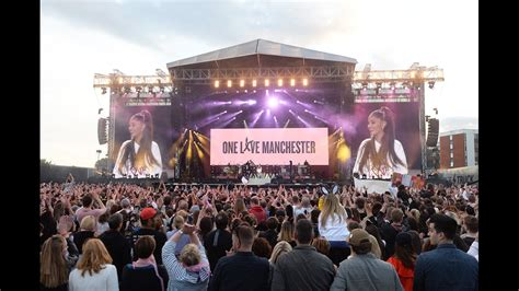 in shadow of attack grande leads studded manchester grande leads emotional one show for manchester kvue