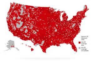 verizon coverage map us and canada better matters verizon wireless