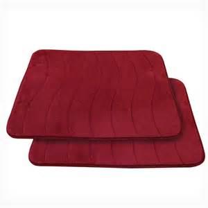 spasoft memory foam bath mats