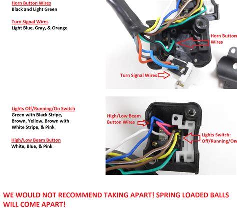 motorcycle handlebar switch wiring diagram efcaviation