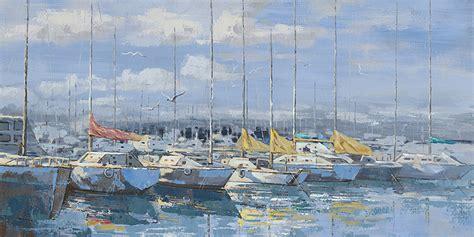 zeilboot griekenland te koop schilderij quot aangemeerde zeilboten quot te koop