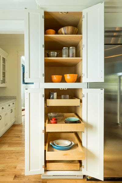 Pantry Cabinet   Tall Kitchen Pantry With Pull out Shelves