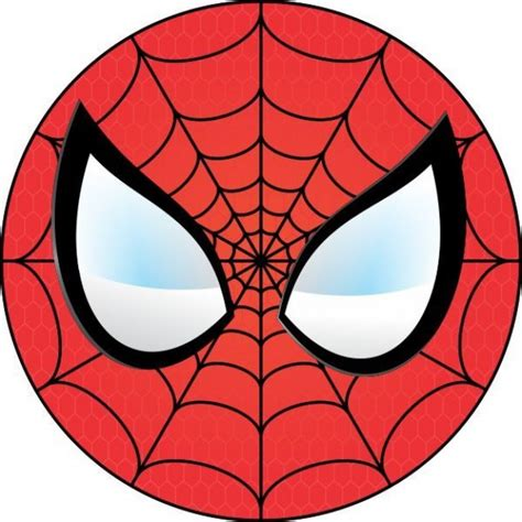 printable spiderman eyes spiderman face template cliparts co