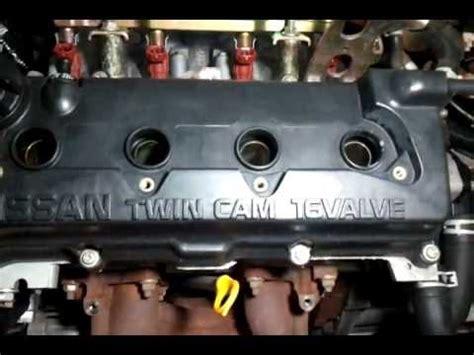 nissan sunny motor qgdemp youtube