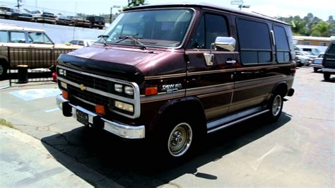 how does cars work 1993 chevrolet sportvan g20 spare parts catalogs 1993 chevy g20 van 1 owner 25 000 miles conversion van youtube