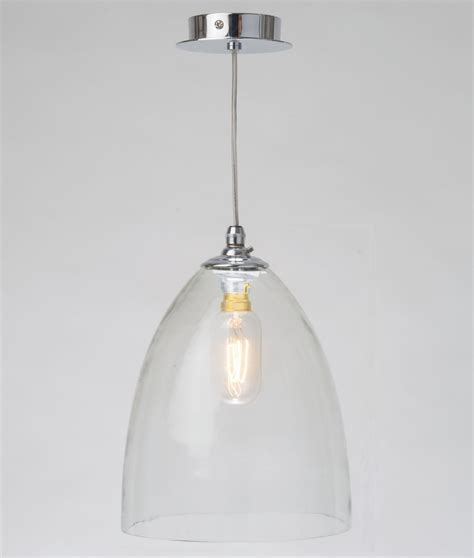 blown glass pendant light shades clear handblown glass shade pendant