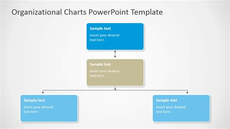 Organizational Charts Powerpoint Template Slidemodel Chart Template Powerpoint