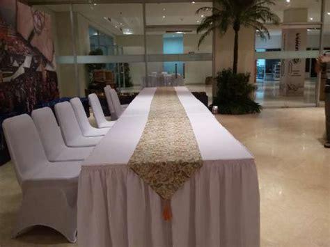 sewa meja vip  event wedding