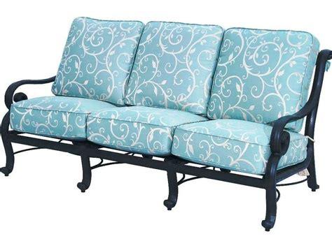 san marco sofa suncoast san marco cushion cast aluminum sofa su2310