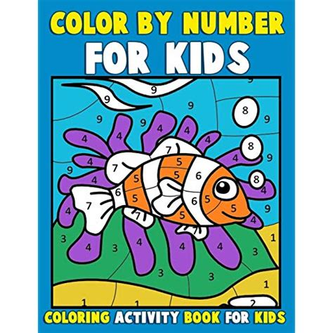 color by number coloring books color by number for