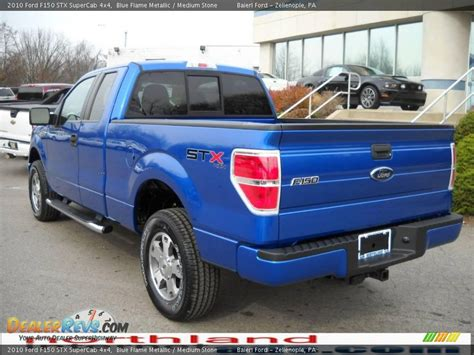 2010 ford f150 stx 2010 ford f150 stx supercab 4x4 blue metallic