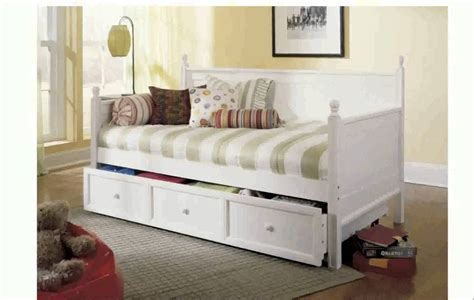 Design Daybeds With Drawers Ideas Pop Up Trundle Bed Ikea Ikea Day Bed Bed With Storage And Gingham Bedding Simple Room