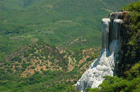 Imagenes Naturales De Oaxaca   cascadas de hierve el agua oaxaca turimexico