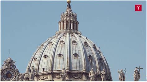 cupola basilica san pietro la cupola di san pietro in vaticano di michelangelo gli