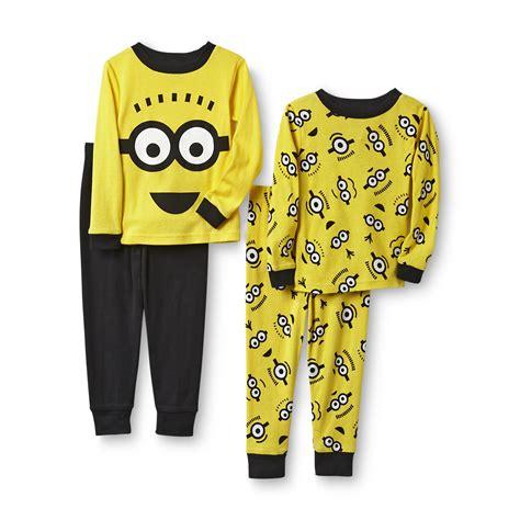 despicable me toddler boy s 4 pajamas minions