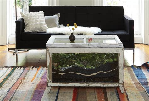 coffee table coffee table centerpieces unique terrarium terrarium wooden coffeetable design