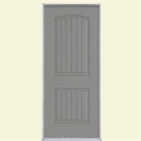 Masonite Fiberglass Exterior Doors Masonite 32 In X 80 In Cheyenne 2 Panel Painted Smooth Fiberglass Prehung Front Door With No