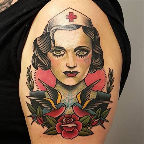 tattoo nurse see this instagram photo by billy raike tattoos 70