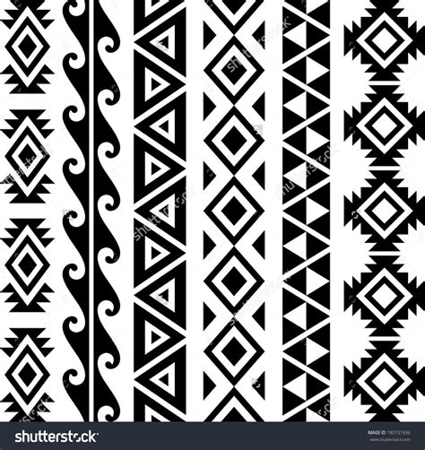 aztec tribal pattern tattoos hawaiian triangle tribal patterns moana