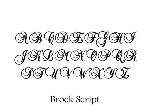 lettering templates fonts lettering stencils free