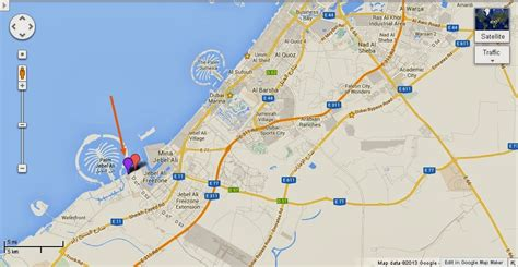 jebel ali dubai uae dubai metro city streets hotels airport travel map