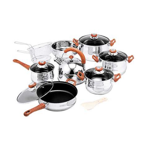 Promo L Living Set Keramik Cookware jual oxone ox 988fsn jumbo cookware set harga