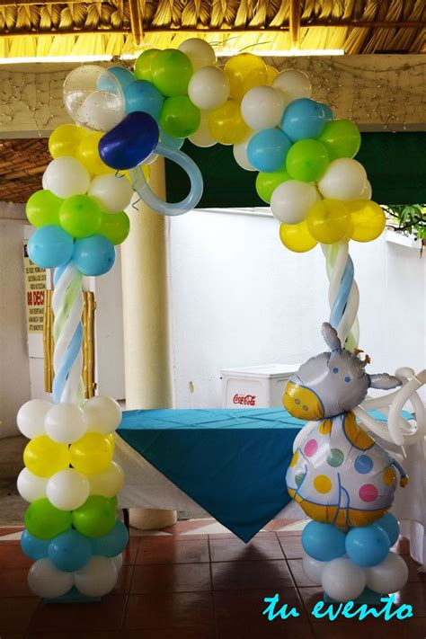 Baby Shower Balloon Arch by Baby Shower Balloon Arch Balloons