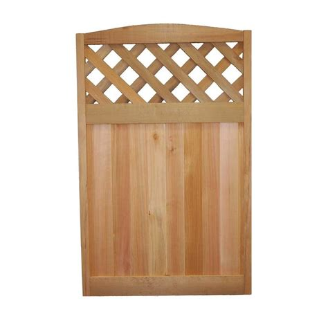 upc 634750000135 wood fence panels 30 in x 48 in