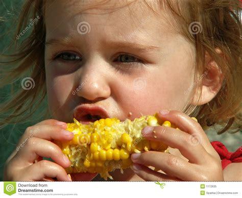 ate corn cob corn on the cob royalty free stock photo image 1172635
