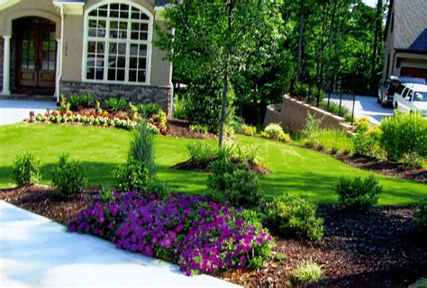 Front Garden Designs And Ideas Front Yard Flower Garden Plans Awesome Landscaping Ideas