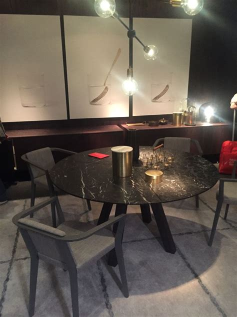 small marble dining table a trip into the of stylish dining tables