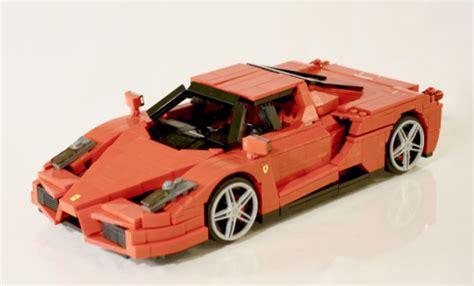 Lego Ferrari Enzo lego ferrari enzo the lego car blog
